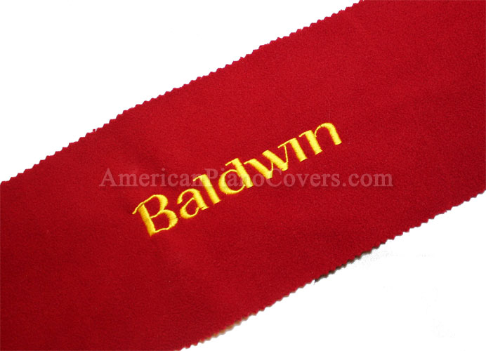 baldwin piano key cover