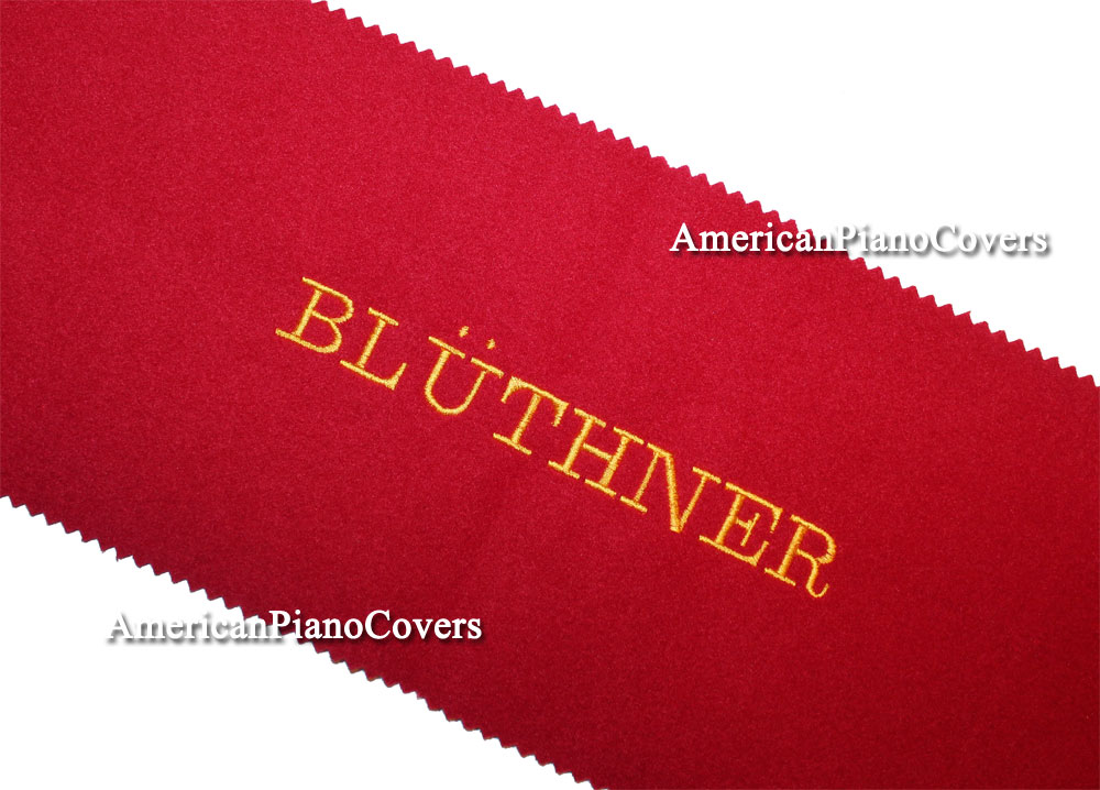 Bluthner piano key cover