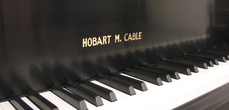 Hobart grand piano