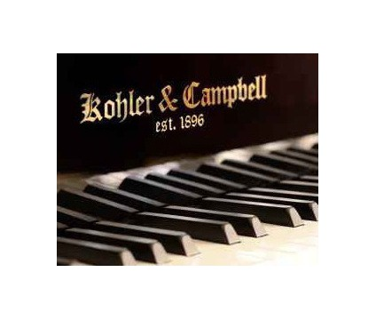 Kohler and Campbell grand piano