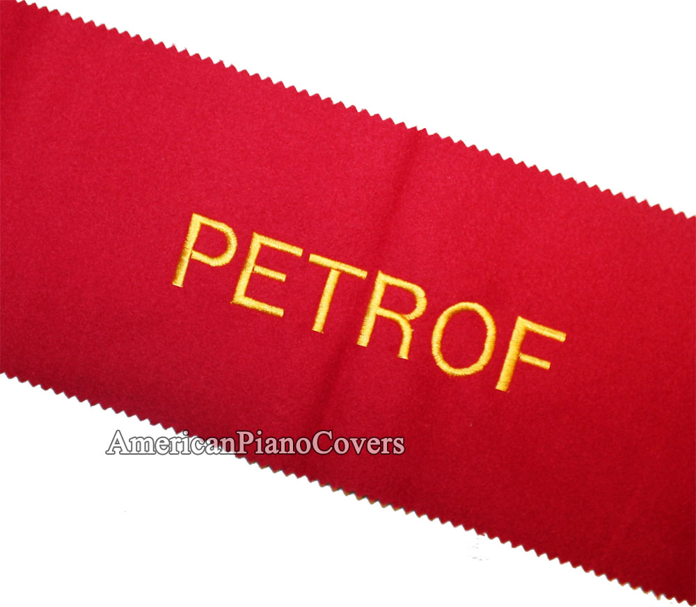 petrof keyboard key cover