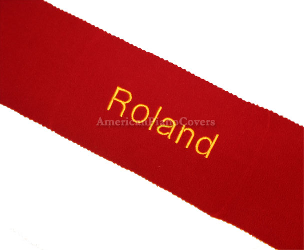 roland keyboard key cover
