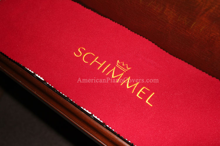 schimmel piano key cover